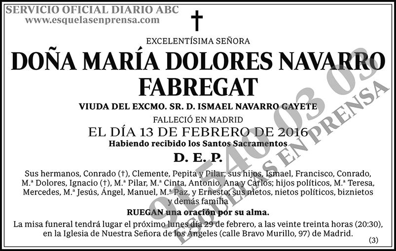 María Dolores Navarro Fabregat